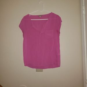 Medium Pink Banana Republic Blouse